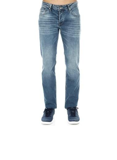 Five Pocket Five Pocket Porto Erkek Kot Pantolon 7192F162PORTO 7192-F162002 Mavi